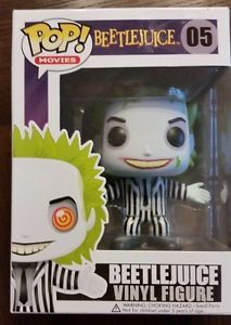 Funko Pop 2015 Movies Beetlejuice 5 Vinyl Figure Tim Burton Beetlejuice New | eBay
