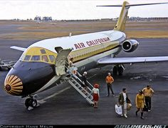 Air California leased 2 Douglas DC-9-10 - interim aircraft operated in advance…