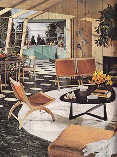 1960's home - love the floor <3