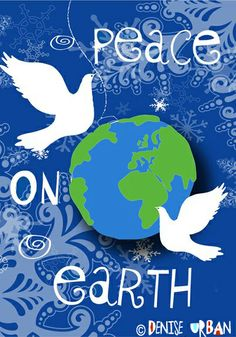 Peace on Earth--Flag for Toland © Denise Urban