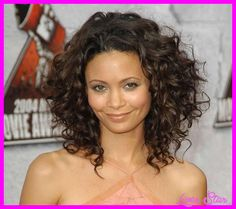 awesome Medium curly haircut styles
