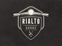 Rialto Garage Logo by Mathias Temmen