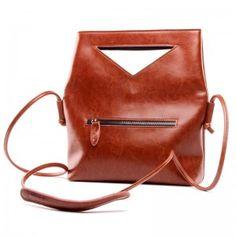 Brown Stylish Genunie Leather Shoulder Bag