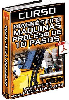 Curso: Diagnóstico de Máquinas – Proceso de los 10 Pasos – Inspección, Evaluación y Fallas Broadway Shows, Chairs, Heavy Equipment, Heavy Machinery, Medicinal Plants