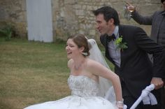 My fairytale wedding in France! Cute folk traditions that you can use too! (like this wheelbarrow race): http://tomorrowsomewhere.blogspot.com/2013/11/a-tale-of-two-weddings.html