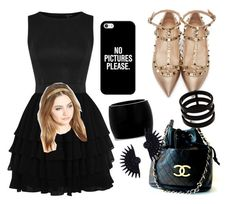 """""""Untitled #11"""" by diorartist on Polyvore featuring Chanel, Valentino, Casetify, Alexander McQueen, Lulu Frost, Repossi and France Luxe"""