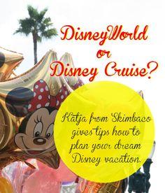 Disney travel tips from Katja Presnal from http://www.skimbacolifestyle.com