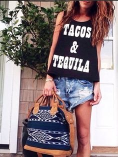 Tacos & Tequila (and our Luna Crossbody, of course)