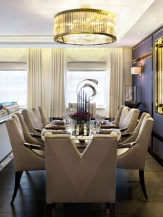 Katharine Pooley Ltd Dining Mayfair