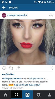 #colourpop #lip #swatch #red  #ultramattelips #lippiestix frenchie