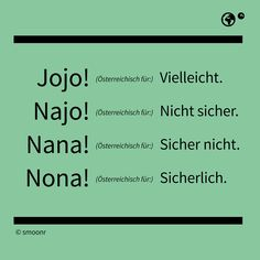Szókincs :: Német Online - Lupán Ágival Visit Austria, Pure Fun, Language School, Learn German, Printable Letters, Sarcasm, Letter Board, Haha, Funny Quotes