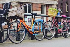 Bikes in Amsterdam | belle + compass