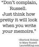 The wit & wisdom of Sherlock Holmes.