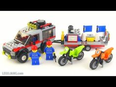 LEGO City 4208 Fire Truck review! - YouTube