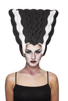 Chris March Monster Bride Wig For Target! WANT Halloween Wigs d80995452a01