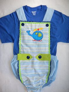 Adult Baby Sissy Littles  HELICOPTER ROMPER   by MyBinkiesAndBows