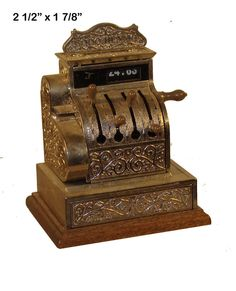 Old Fashion Cash Register  from ESTATE  #Bespaq