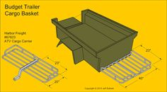 Fiberglass M416 M100 Military Style Trailer Tub Kit Page