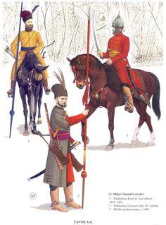 Reconstruction of Mihai Viteazul's cavalry.