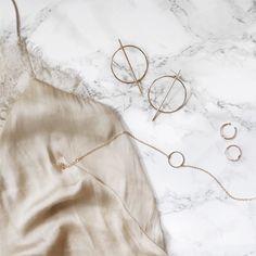 Jewellery flatlay from Rani & Co.