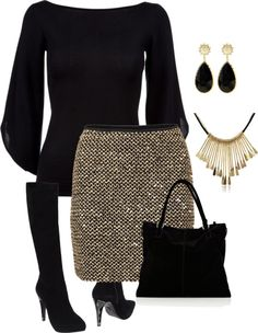 """work"" by daiscat on Polyvore Supercool!! #rokje #ketting #tas http://www.pinterest.com/FashionHermans/"