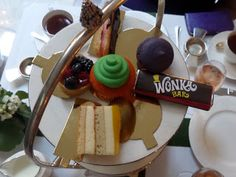 Afternoon Tea Review - The Chesterfield Mayfair's Charlie and the Chocolate Factory afternoon tea