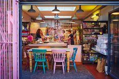 Meringue Girls: Welcome To Rainbow World Meringue Girls, Sweet Bakery, Restaurant Kitchen, Brand Story, East London, Girl Power, Home Appliances, Rainbow, World