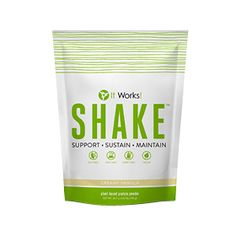Meet your goals when you energize your workouts, build lean muscle mass, and support your healthy metabolism! That's the power of plant-based protein in It Works! Shake!  The plant-based It Works! Shake is easy on your digestive system with no uncomfortable side effects or worries about hormones, antibiotics, or lactose—just clean, satisfying protein that crushes cravings to help you feel fuller longer!  The 100-calorie per serving It Works! Shake packs the punch of 15 grams of protein in a…