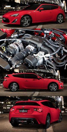 Toyota GT 86 Shooing Brake Concept Unveiled - Toyota Engine And Gearboxes Toyota Auris, Scion Frs, Shooting Brake, Diesel Engine, Subaru, Old School, Size 2, Engineering, Concept