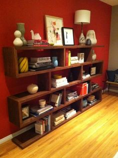 I have this deep, dark desire to build my own bookshelves. and this design is amazing.