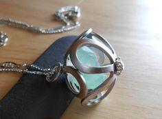 Bougainvillea  Genuine Sea Glass Jewelry  by SeaFindDesigns, $23.00