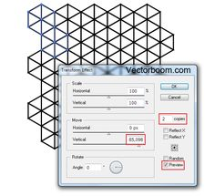 How to create hexagonal grids for making patterns in Illustrator - Illustrator Tips - Vectorboom