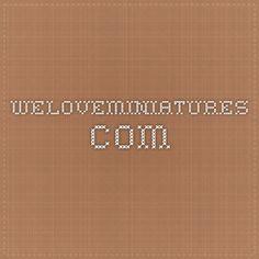 Un amplio surtido de magnificos Tutoriales en video. weloveminiatures.com