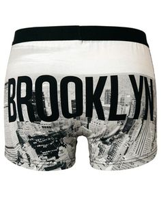 ASOS Trunks with Brooklyn Print