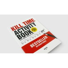 Libro di passatempi kill time..
