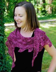 Ravelry: Rowan Berry Shawlette pattern by Laurinda Reddig