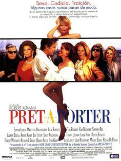 Prêt-à-porter (1994) | Una ficción alrededor de la realidad del mundo de la moda...