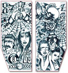 9e1382928 Tinsley Transfers Inc. - Prison - Tinsley Transfers Transparent Tattoo  Sleeves - Pair, $19.95
