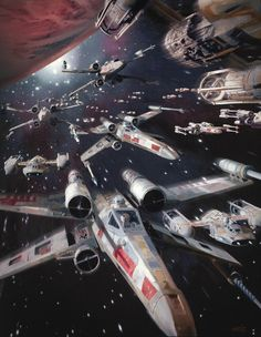 Awesome Tie Fighter STAR WARS Fan Art