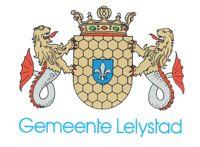 Wapen gemeente Lelystad, vlag staat hier ook alsmede een stukje over de geschiedenis van (het ontstaan van) Lelystad. KB