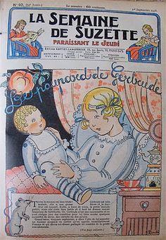 "Susan's Mini Homes: Bleuette - The famous little ""Blueberry"" of France"