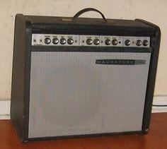 "1965 Magnatone MP 1 Guitar Amplifier w Reverb All Tube 1x12"" Repair Project | eBay"