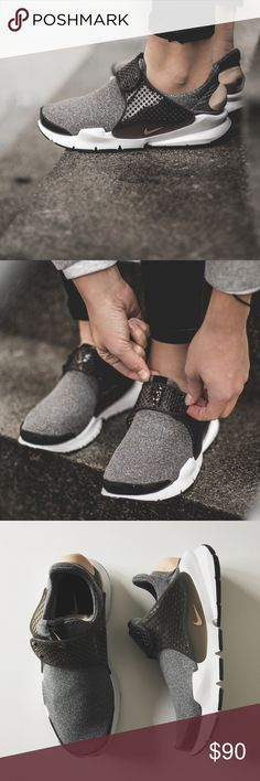Nike Sock Dart SE Sneakers •The stretchy, comfortable Nike Sock Dart SE Women's Shoe takes a minimalist approach for a streamlined look.  •Women's size 7, runs small and would be best for a 6.5.  •New in box (no lid)  •NO TRADES/HOLDS/PAYPAL/MERC/VINTED/NONSENSE. Nike Shoes Sneakers