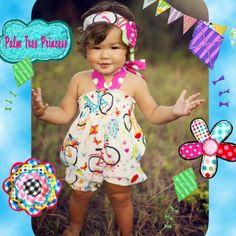 Girls+Bubble+Romper+girls+romper+baby+girl+by+PalmTreePrincess,+$31.95