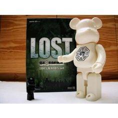 Amazon.com: Lost Bearbrick 100% & 400% Set: Toys & Games