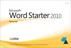 Office 2010 gratuit Word Excel