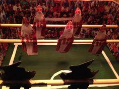 tafelvoetbal Sinterklaas en Pieten
