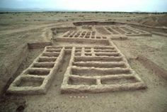 The archaeological site in Mehrgarh where the amulet was found.