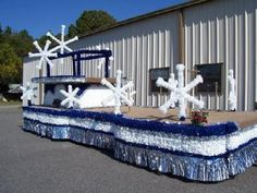 Picture Christmas Parade Float | Float 17- BOOKED. This float has been reserved.