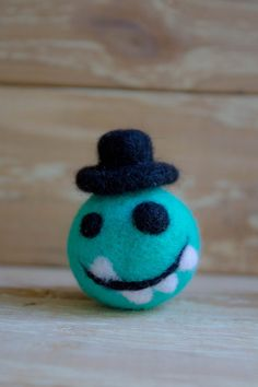 Felted monster friendly felted monster figure needle от WooolyWool